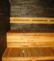 Sauna stain black